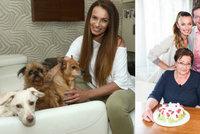 Psi na kožené sedačce a paní na úklid: Jak žije Alice Bendová?