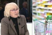 """Dejte dvojí kvalitu potravin na """"černou listinu"""" EU, žádá Sehnalová"""