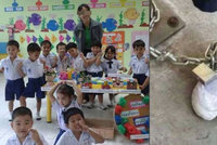 Učitelka ve školce přivázala holčičku (3) řetězem a mlátila ji: Byla to prý forma trestu