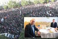 Zeman navrhl koalici dvě řešení krize, Babiš podle Sněmovny lhal a vzpoura davu