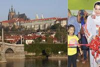Do Prahy míří princezna Mona: Chce tu domluvit vzdělávání ománských elit