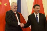 Zeman se chce opět setkat s vládcem Číny. Si Ťin-pchingovi popřál k výhře