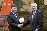 Zeman letí na skok do Číny. Si Ťin-pchinga má provést na obřím výstavišti