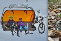 Klínovec zahájil letní sezonu! Trail Park nabízí 24 km tras pro kola
