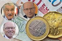 Češi potřebují euro, říká ČSSD. Kdy? Experti se neshodnou