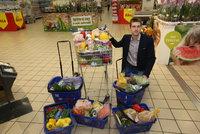 Každý Čech vyhodí 81 kilo jídla ročně. Rodiny nechávají zkazit půlku nákupů