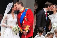 Když se vdává sestra britské vévodkyně Kate: Pippa opět vystoupila z jejího stínu! Svatba jako přes kopírák