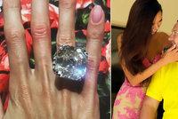 To jste ještě neviděli: Oligarcha dal manželce k výročí diamant za 230 milionů