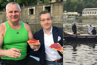 Kajínek si užívá svobody: Romantika na Vltavě!