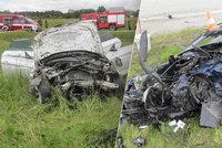 Tragická nehoda dvou BMW u Dolního Dvořiště: Oba řidiči zemřeli po čelní srážce