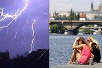 """Počasí v Praze: Pondělí i úterý tropy, pak dorazí bouřky. """"Mohou být i velmi silné,"""" varují meteorologové"""