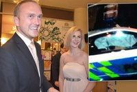 Superauto policie expřítel Zemanovy dcery neboural, tvrdí Hrad i záchranka