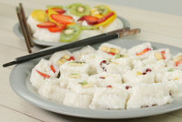 Sushi z ovoce: Skvělý letní oběd plný vitamínů!