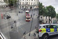 Hrozba v Londýně: V centru našli podezřelý balíček, Trafalgar byl evakuován
