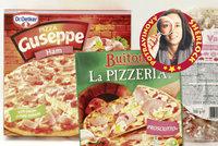 Mražené šunkové pizzy: Kdo šetří na množství a kvalitě šunky?