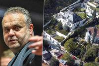 Krejčířova vila půjde do aukce: Jeho manželka u soudu neuspěla, exekuce platí