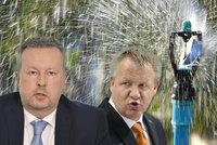 Němeček útočí na Brabce za dešťovku: Si dělá p*del? Expert: Oba jsou mimo