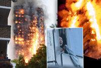 Ohnivé peklo v Londýně: Bytový věžák zachvátil požár! Až desítky mrtvých!