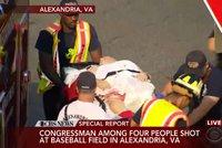 Střelba ve Virginii: Útočník vypálil stovku ran, zranil prominentního politika