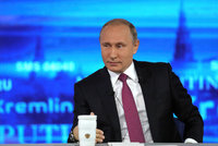 Putin má druhého vnuka, prozradil v televizi. Rusům chce pomoci s porodností