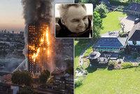 Po požáru v Londýně skončily stovky lidí na ulici! Muž odpovědný za ohnivé peklo se skrývá v luxusní rezidenci