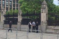 Před londýnským parlamentem byl muž s nožem. Policie ho paralyzovala