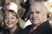 """Zemřel muž, který vytáhl mladou Merkelovou: """"Kohl mi zásadně změnil život"""""""