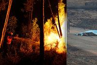 Lidé uhořeli hromadně v autech: Požár v Portugalsku zabil nejméně 57 lidí