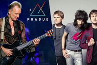 Hvězdy míří do Prahy: Na Metronome festival přijede Sting i Kasabian