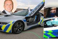 Tečka ze nehodou policejního BMW se Zemanovým mužem: Nikdo nepochybil, tvrdí inspekce