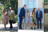 Klaus slaví 76. narozeniny. Dorazili Duka, Hejma, Macek, Bobošíková i Forejt
