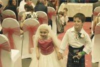 Pětileté holčičce vystrojili svatbu snů! Dívka umírá na rakovinu