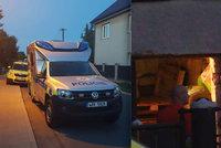 Děsivá smrt v garáži v Rudné u Prahy: Muž (†61) se smrtelně zranil při práci na cirkulárce