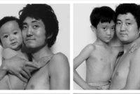 Koloběh života. Muž se fotil se synem dlouhých 26 let. Skvělý nápad!