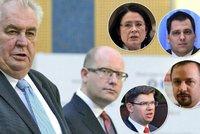 """Buranství, bahno a hnůj: Politici odsoudili Zemanův výrok o """"svini"""" Sobotkovi"""