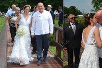 Multimilionář Masný (62) se oženil: Bral si o 35 let mladší ženu