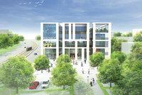 Nová modřanská radnice se zprovozní už příští rok. Hledají se nájemci komerčních prostor
