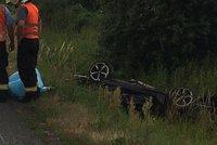Podnikatel Erik (†26) našel smrt v luxusním bavoráku: S vozem skončil v příkopu
