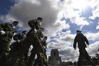Vojáci na Vítkově vzpomínali na legionáře. Několik jich ocenili