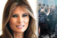 Trumpovu Melanii uvěznili Němci ve vile. Nemůže ven kvůli protestům v Hamburku