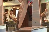 Skandál letecké společnosti Emirates: Pasažér načapal letušku, jak nalévá šampaňské ze skleniček zpátky do lahve!