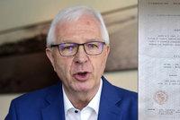 Drahoše mají zničit zkazky o spolupráci s StB. Ukázal lustrační osvědčení