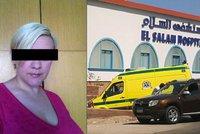 Lenka pobodaná v Egyptě je v kritickém stavu: Selhaly jí orgány!