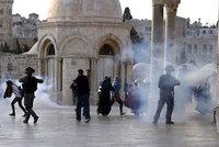 Rána pro křehké příměří? Na Chrámové hoře se Palestinci střetli s izraelskou policií