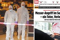 Vrah křičel Alláh je velký, tvrdí svědci z Hamburku. Ahmad přišel jako běženec