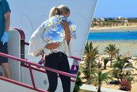 13měsíční holčička v Egyptě chytila neznámý virus. Letěl pro ni vládní speciál