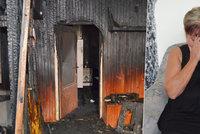Dáša, které žhář upálil manžela i syna, promluvila: Druhého syna mi zabila rakovina