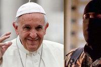 ISIS vyhrožuje Římu. Ve videu roztrhali papeže Františka