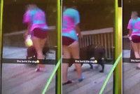 Dívka (13) vysílala v přímém přenosu podpálení psa zaživa: Zapálila ho její kamarádka (14)