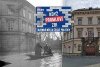 Putin z paláce na Kampě prchl na pivo a buřta, nacisty tu zaskočila velká voda
